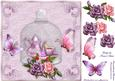 Time for Tea with Roses and Butterflies in Lilac