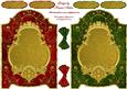 Beautiful Screens in Red and Green Quick Card Fronts
