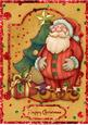 Jolly Santa A4 Card Front/topper