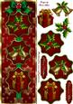Merry Christmas Tall Dl Card Front with Step by Step