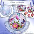 Blooms & Butterflies Scallop Wobble Card Mini Kit