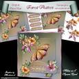 "Forest Flutters 8"" Square Card Mini-kit"