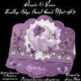 Hearts & Roses Scallop Easel Card Mini-kit