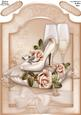 Wedding Glamour - A4 Shaped Card Front