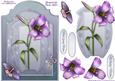 Lily Bloom - Shaped Card Front with Step by Step