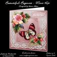 "Beautiful Begonias - 8"" Square Card Mini-kit"