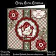 "Chirpy, Chirpy Christmas - 8"" Square Card Mini-kit"