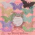 Lace Flutterby Butterfly Set