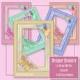 Flutterby Butterfly Frames Cu4cu/pu