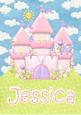 A4 Jessica Card Front Personalised Name Gift