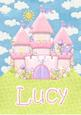 Lucy Fairytale Personalised Childrens Name Picture