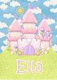 Ella Fairytale Personalised Childrens Name Picture