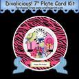 "Divalicious! 7"" Plate Card Kit"