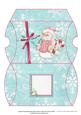 Cute Snowman Christmas Gift Pillow Box