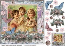 Vintage Flutter Friends