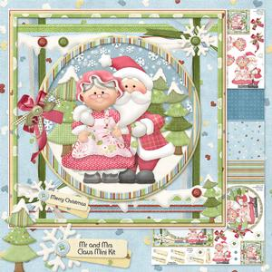 Mr and Mrs Claus Mini Kit