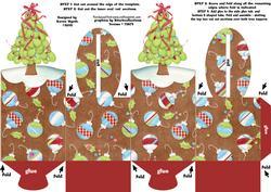 Festive Xmas Tree Box
