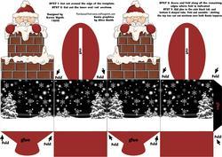 Santa's Chimney Teat Box