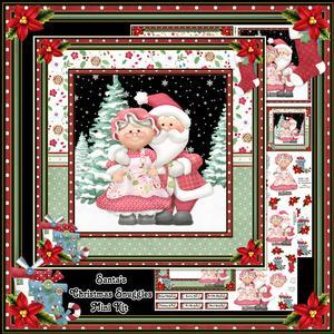 Santa's Christmas Snuggles Mini Kit