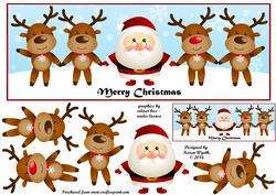 Santa's Reindeer Dl