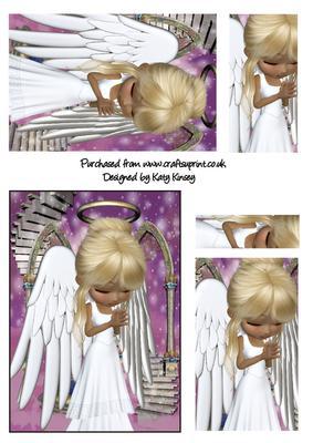Angel Prayers Pyramage Sheet