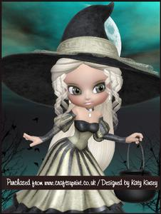 Witchy Ways A4 Tunnel Card Kit