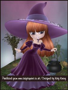 Velvet Witch A4 Tunnel Card Kit