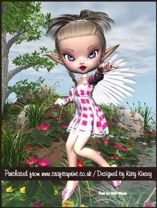 Hailey Fairy A4 Pyramage Card Kit