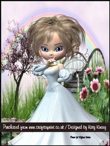 Mirella Fairy A4 Pyramage Card Kit