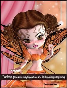 Tansy Fairy A4 Pyramage Card Kit