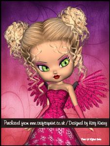 Rowena Fairy A4 Pyramage Card Kit