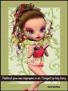 Emmanuelle Fairy Christmas A4 Tunnel Card Kit