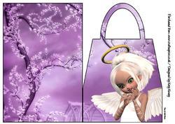 Gwen Angel Handbag Card