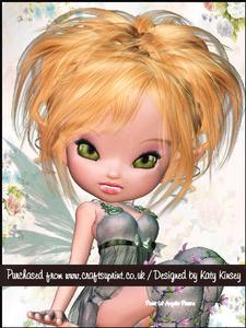 Chamomile Fairy A5 Pyramage Card Kit