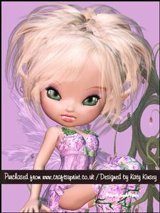 Lissie Fairy A5 Pyramage Card Kit
