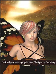 The Moth Fairy A5 Pyramage Card Kit