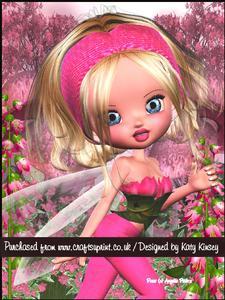 Emilia Fairy A5 Pyramage Card Kit