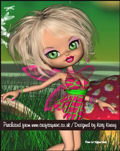 Melinda Fairy A5 Pyramage Card Kit