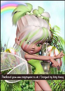 Minty Fairy A5 Pyramage Card Kit