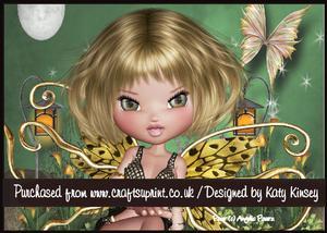 Eden Fairy A5 Pyramage Card Kit