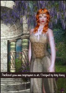 Elf Princess A5 Pyramage Card Kit