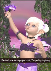 Jacaranda Fairy A5 Pyramage Card Kit