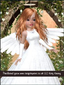 Angel Delight A4 Tunnel Card Kit in Auburn