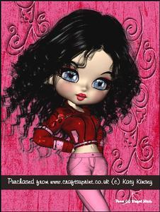 Astrid A4 Pyramage Card Kit