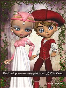 Romeo and Juliet A4 Tunnel Card Kit