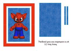 Spidercat Flip Card Sheet