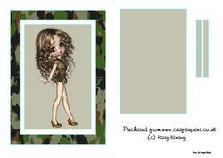 Forces Sweetheart Flip Card Sheet