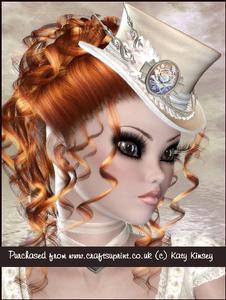 Elegant in Cream Portrait A4 Pyramage Card Kit