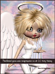 Angelina Guardian Angel A4 Pyramage Card Kit