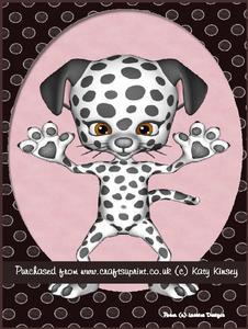 Spot the Dog A4 Pyramage Card Kit